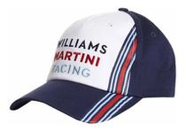 Boné Oficial Williams Martini Racing F1 Team Licenciado -