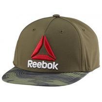 Boné Reebok Aba Reta Camuflada Snapback Cap Logo Delta Ufc -