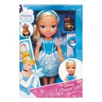 Boneca - 30 cm - Minha Primeira Princesa Real - Cinderela com Pet e Acessórios - Mimo -