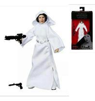 Boneca Action Figure Princesa Leia Star Wars Black Series - Hasbro