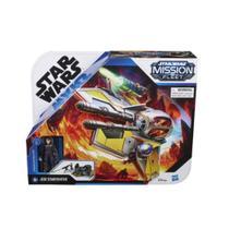 Boneca Anakin e Nave Jedi Starfighter - Star Wars - Hasbro -