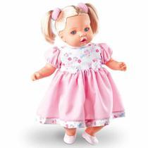 Boneca Angelina Loira Fala 62 Frases  - Milk Brinquedos -