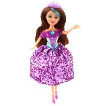 Boneca Articulada com Acessórios - Funville Sparkle Girlz - Princesa - Charlotte - DTC -