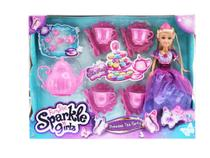 Boneca Articulada e Acessórios - Funville Sparkle Girlz - Dtc