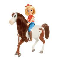 Boneca Articulada - Lucky com Cavalo - Abigail e Boomerang - Spirit - Mattel - Sem Licença