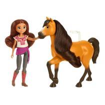 Boneca Articulada - Lucky com Cavalo - Spirit - Mattel - Sem Licença