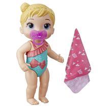 Boneca Baby Alive Banhos Carinhosos Loira - Hasbro E8721 -