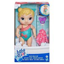 Boneca Baby Alive Bebê Banhos Carinhosos Loira - E8716 - Hasbro -