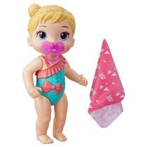 Boneca Baby Alive Bebê Banhos Carinhosos Loira E8721 - Hasbro E8716 -