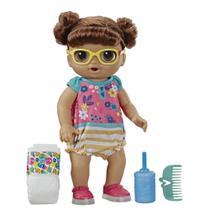 Boneca Baby Alive Bebê Passos E Sorrisos Morena - E5248 - Hasbro -