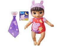 Boneca Baby Alive Boa Noite Peppa - com Acessórios Hasbro