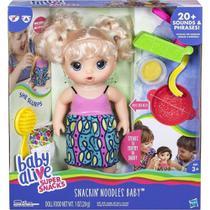Boneca Baby Alive Come Espaguete Loira C0963 - Hasbro -