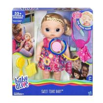 BONECA BABY ALIVE DOCES LAGRIMAS LOIRA C0957 Hasbro -