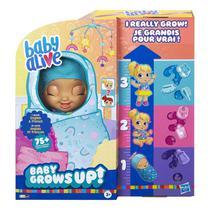 Boneca Baby Alive Grows Up Bebe Cresce Feliz Surpresa E8199 - Hasbro