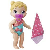 Boneca Baby Alive - Hora do Banho - Banhos Carinhosos - Loira - E8722 - Hasbro -