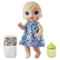 Boneca Baby Alive - Hora Do Xixi - Loira - E0385 - Hasbro - Brinquedos