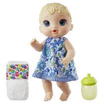 Boneca Baby Alive Hora do Xixi Loira - Hasbro E0385 -