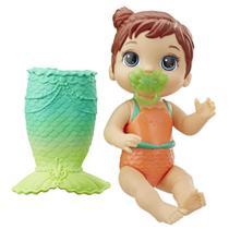 Boneca Baby Alive Linda Cauda Morena E5851 Hasbro -