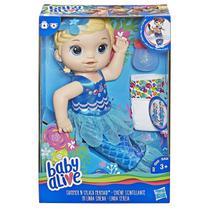 Boneca baby alive linda sereia loira - hasbro e3693 -