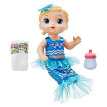 Boneca Baby Alive Linda Sereia - Loira - Hasbro -