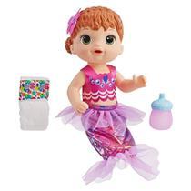 Boneca Baby Alive Linda Sereia Ruiva E4410 - Hasbro -