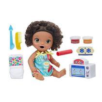 Boneca Baby Alive Meu Primeiro Forninho Negra - E2098 - Hasbro -