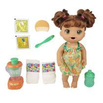 Boneca Baby Alive Misturinha Tropical Morena E6944 - Hasbro -