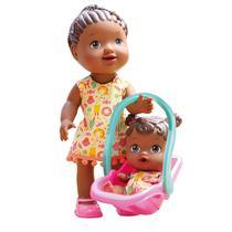 Boneca Baby Alive My Little Tal Mae Tal Filha Negra - Divertoys