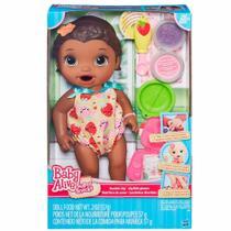 Boneca Baby Alive Negra Lanchinhos Divertidos B5014 - Hasbro -