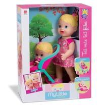 Boneca Baby Little Collection Alive Tal Mãe Tal Filha Loira - Divertoys