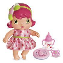 Boneca Baby Moranguinho - 20 cm - Com Acessórios - Mimo -