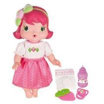 Boneca Baby Moranguinho - Faz Xixi Com Acessórios - Mimo -