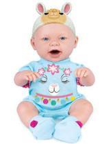 Boneca baby ninos bichinhos hora do lanchinho - cotiplás -