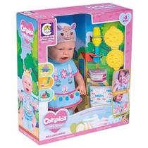 Boneca Baby Ninos Hora Do Lanche Bichinhos - Cotiplás 2396 -