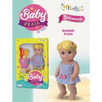 Boneca Baby Praia - Miketa