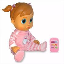 Boneca Baby Wow Analu Que Fala Br732 Original Multikids -