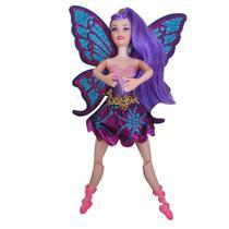 Boneca Bailarina Ballet Articulada Tipo Barbie 30cm + Acess - Barlina