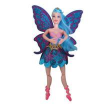Boneca Bailarina Ballet Articulada Tipo Barbie 30cm + Acess - Barlina -