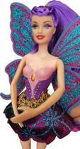 Boneca Bailarina Ballet Estilo Barbie Lilás Articulada Original 28cm -