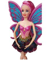 Boneca Bailarina Ballet Estilo Barbie Pink Articulada Original -