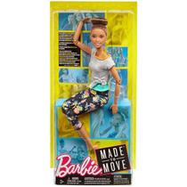 Boneca Barbie Articulada Morena - Made to Mode - Mattel -
