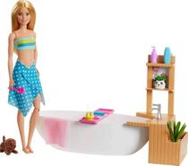 Boneca Barbie Banho de Espuma - Mattel -  UNICA -