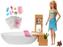 Boneca Barbie Banho de Espumas com Acessórios - Mattel -