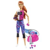 Boneca Barbie - Barbie Fashionista - Dia de Spa Fitness - Mattel -