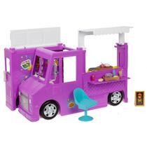 Boneca Barbie- Careers Food Truck - Rosa - Mattel -