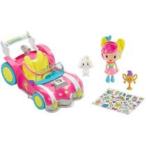 Boneca barbie carro video game dtw18 - Mattel