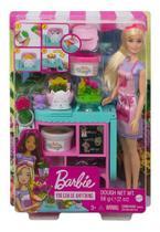 Boneca Barbie Cenário  Loja De Flores - Mattel Gtn58 - Brinquedos