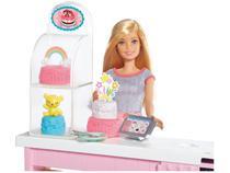 Boneca Barbie Chef de Bolinhos com Acessórios - Mattel