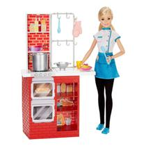 Boneca Barbie Chef De Massas - Mattel