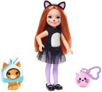 Boneca Barbie Club Chelsea - Festa a Fantasia Gato - Mattel
